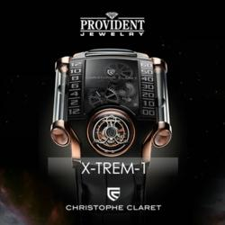 The X-TREM by Christophe Claret has been nominated for awards in innovation at the Grand Prix of Geneve 2012