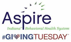 Aspire Indiana and Giving Tuesday logos