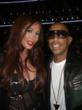 Jenna Bentley and rap star Ludacris at the 2012 American Music Awards