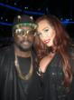 Jenna Bentley and Will.i.Am at the 2012 American Music Awards