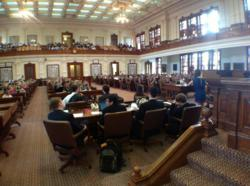 JSA Students in the Texas Statehouse