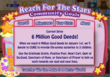 About 6 Million Good Deeds Drive in A Better World game on Facebook during Thanksgiving and Christmas seasons