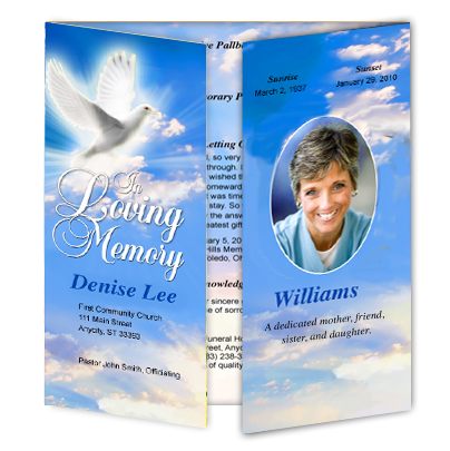 Template Superstore The Funeral Program Site Creates New