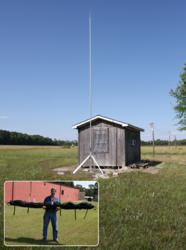 PLP-Series Lightning Masts Protect Critical Assests and Are Easily Portable