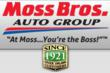 Moss Bros. Auto Group Announces Doorbuster Weekend Sale