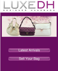 LuxeDH handbag buying app