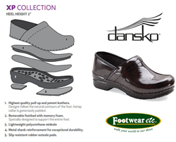 Dansko Shoes, Sandals and Clogs at Footwear etc.