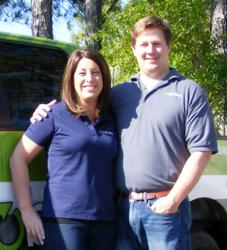 Owners Jennifer and Gordon Raney