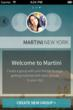 Martini launches on iOS and Android in New York City.