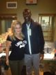 Terrell Owens and Vered Nisim gush over Steps4paws new t-shirt collection!