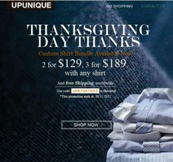 UPUNIQUE Thanksgiving Sale