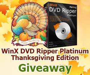 Digiarty Black Friday Giveaway - DVD Video Converter