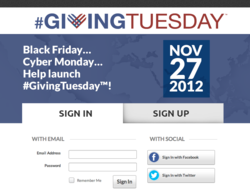 #GivingTuesday - 27th November