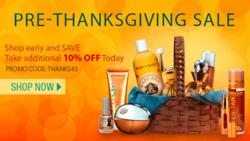 Ultra Fragrances' 3-Day Pre-Thanksgiving Sale