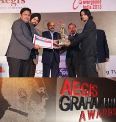 Hidden Brains, winner of Aegis Graham Bell Awards 2012