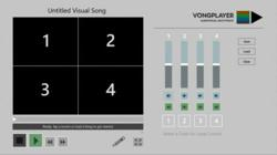 Vongplayer webcam recording app for musicians.