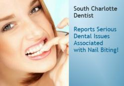 Nail Biting Causes Bruxism says Charlotte NC Denist