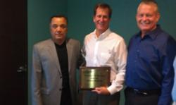 Prestolite Executives with ETCO Senior VP of Sales John Stiness