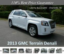2013 GMC Terrain Denali at Charlotte Buick GMC Dealership
