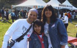 Walking for the Cure for Brain Tumors - Isabel Neidorf and Parents