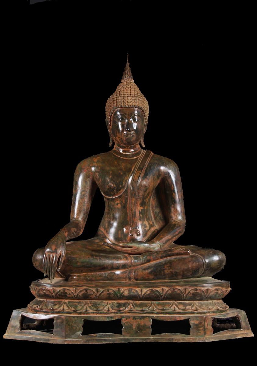 Lotus Sculpture Receives New Shipment Of Thai Brass Buddha