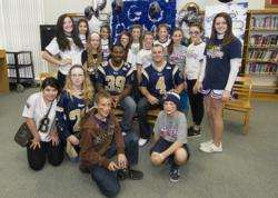 Rogers Middle School Fuel Up To Play 60 ambassadors
