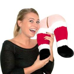 Santa's Farting Butt Travel Pillow, from Stupid.com