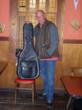Tim Flannery Reunion Blues leather gig bag