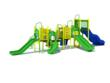 August Commercial Play Structure