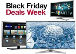 Smart TV Black Friday &amp; Cyber Monday 2012