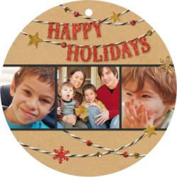 Hallmark Holiday Ornament Photo Card