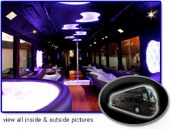 50 passenger limo bus