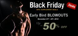 Black Friday Supplement Deals