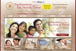 hearing aids in Santa Fe NM - The Hearing Care Centers of Southwestern Ear, Nose & Throat new website