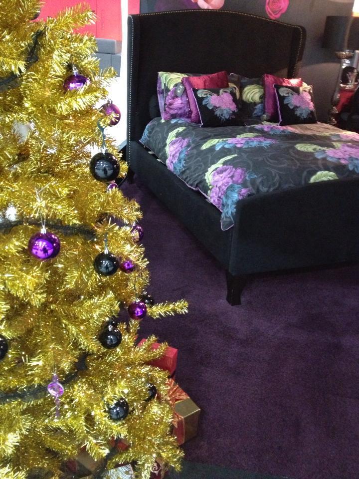 Laurence Llewelyn Bowen s  Naughty  Christmas Bedroom Naughty  Christmas  Bedroom. Naughty and Nice Christmas Bedroom Ideas