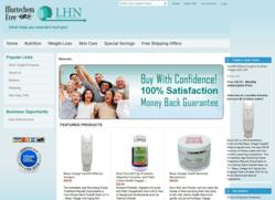 New GoLHN.Com Shopping Cart hosted by Volusion