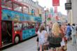 A specially appointed Truth About Drugs double decker bus during the 2012 London Olympics