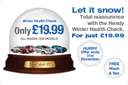 Hendy 12 Point Winter Health Check