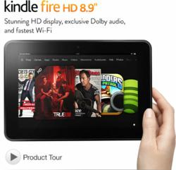 Cyber Monday Kindle Fire HD 8.9
