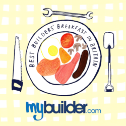 MyBuilder Best Builders' Breakfast in Britain logo