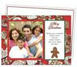christmas holiday photo card template