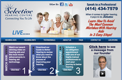 hearing aids in Oak Creek - Selective Hearing Centers new website