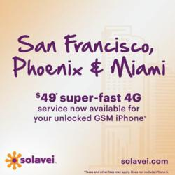 4GSanFrancisco.com, San Francisco, Oakland, San Jose, Berkeley  solavei, California 4G, Unlimited Cell, 4g Phone Plan ,No Contract ,VoiceText & Data, $49 Month