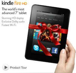 "Kindle Fire HD 7"" in Stock"