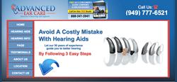 hearing aids in Laguna Woods CA - Advanced Ear Care new website