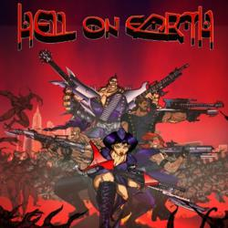Hell on Earth is an animated rock opera drawn in the Japanese anime style and infused with an American sense of humor