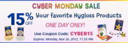 Don't Miss Hygloss Products' Cyber Monday Sale