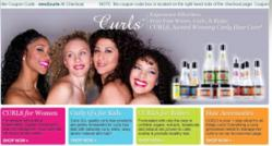 Curls hair care products for women with curly hair