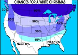 Harris-Mann Climatology Reports the Potential for a White Christmas