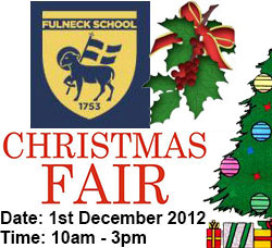 Fulneck School Christmas Fair